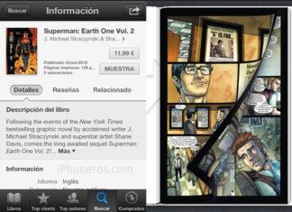 Superman en iBooks