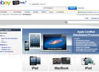 Tienda de Apple en eBay