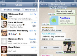 Whatsapp para iPhone 5