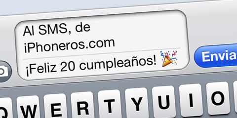 Feliz cumpleaños SMS