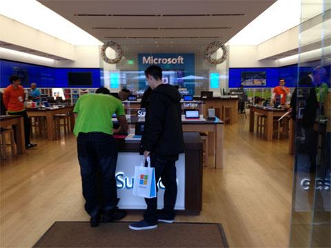 Tienda de Microsoft en California