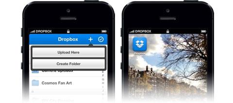 Nueva Interfaz de Dropbox