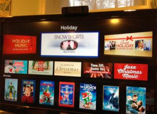 Apps de Invierno en el Apple TV
