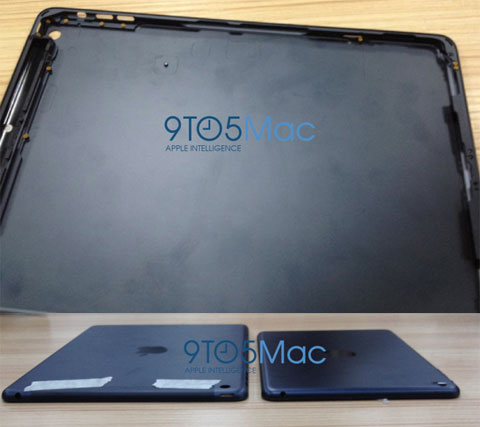 Supuesta carcasa del iPad de quinta generación