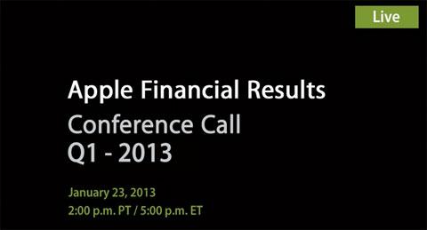Resultados financieros de Apple - Q1 2003
