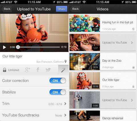 Capture de YouTube