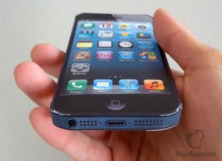 iPhone 5 de cinco pulgadas de papel