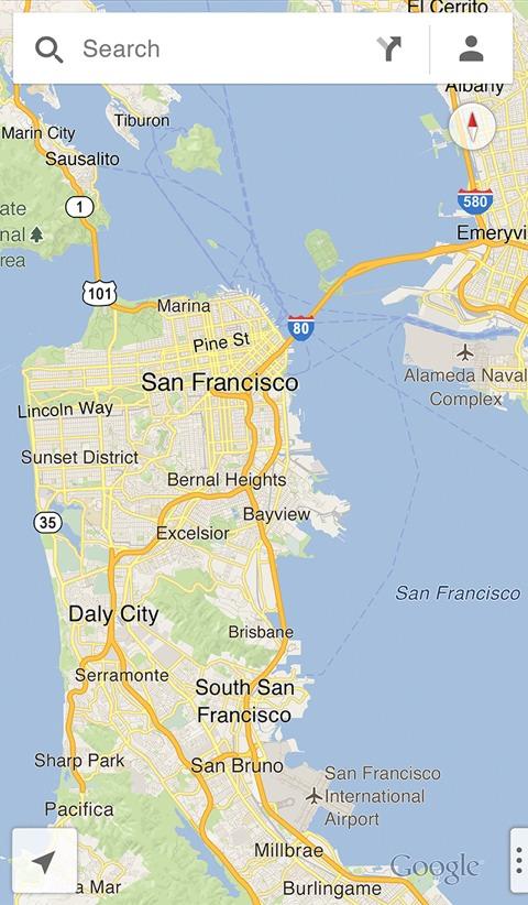 Google maps se actualiza a la versin 11 en iphoneros google maps gumiabroncs Image collections