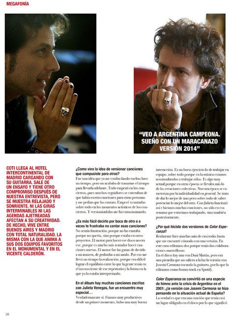 Entrevista en Offside Magazine