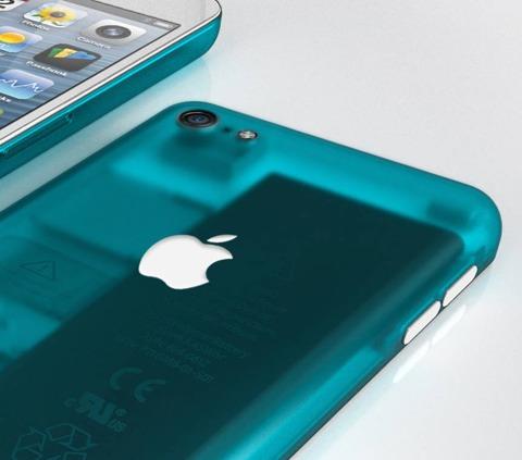 Concepto de diseño de iPhone transparente