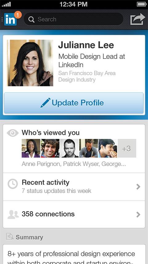 Nueva LinkedIn