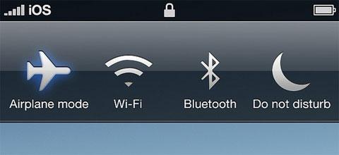 Iconos de acceso directo en la pantalla de bloqueo