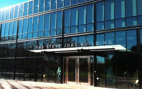 Edificio nombrado Steve Jobs