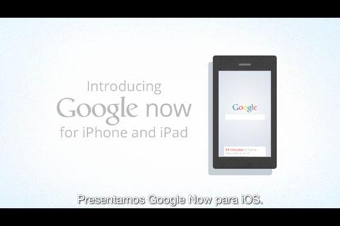 Google Now en iOS