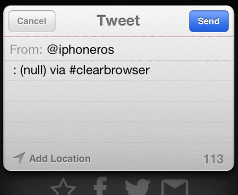 Clear Browser