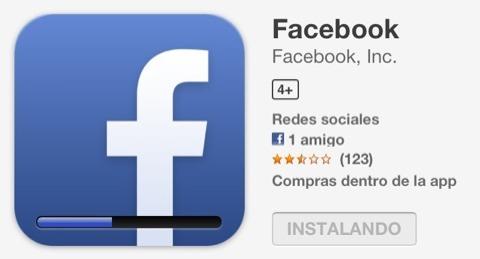 Actualizando Facebook