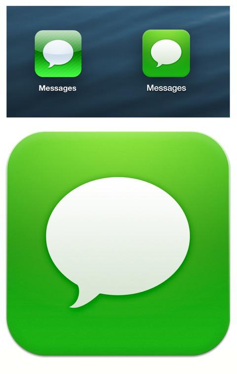 Icono de Mensajes plano