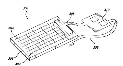 Patente de doble panel táctil