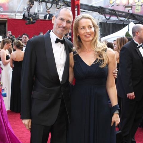 Steve Jobs y Laurene Powell