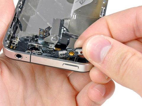 Botón de encendido del iPhone 4