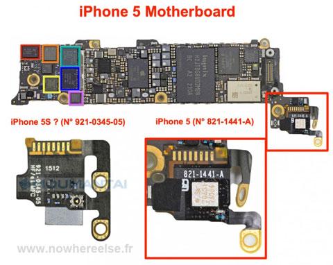 Supuesto componente de un nuevo iPhone
