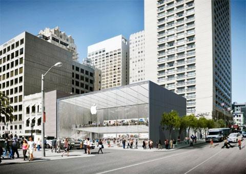 Futura Apple Store en Union Square