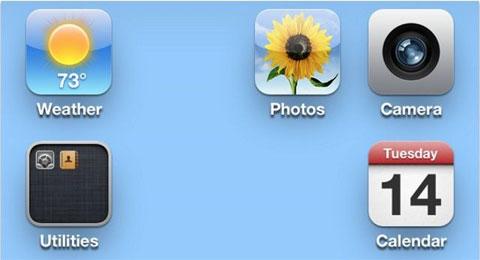 Espacios abiertos en el escritorio de iOS