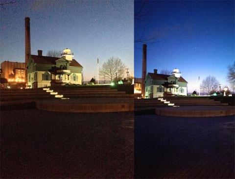 Foto de noche