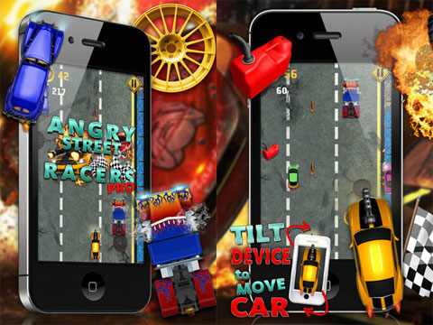 Angry Street Racers PRO