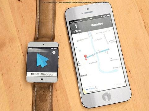 El iWatch como segunda pantalla para los mapas