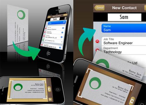 SamCard-business card reader