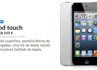 Nuevo iPod touch de bajo coste