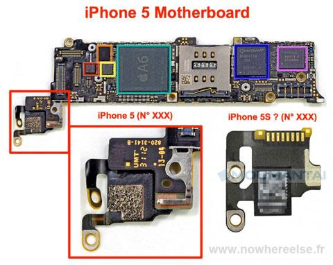 Supuesta parte de un nuevo iPhone