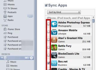 Lista de Apps en iTunes