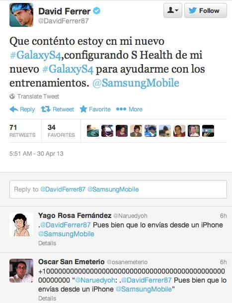 Twitter de David Ferrer