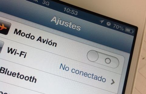 Interfaz de iOS 6