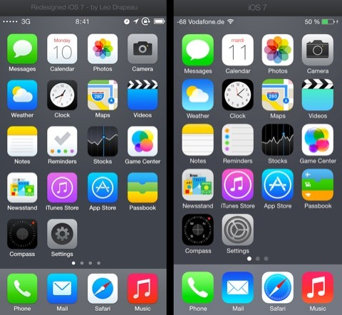 iOS 7 alternativo