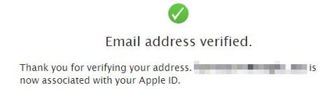 Email verificado
