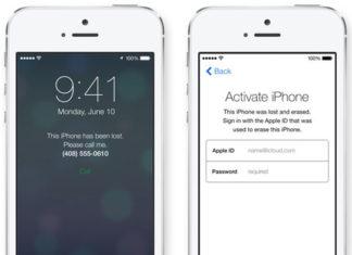 Activar iPhone con Buscar mi iPhone