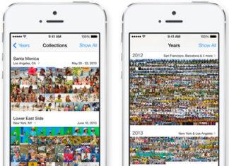 App de Fotos de iOS 8