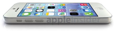 Imagen generada por ordenador de un supuesto iPhone de bajo coste