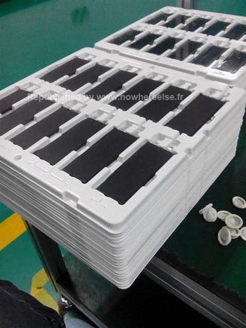 Supuestas baterías del nuevo iPhone