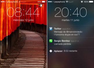 Recorrido Visual de iOS 7 con otros colores dominantes