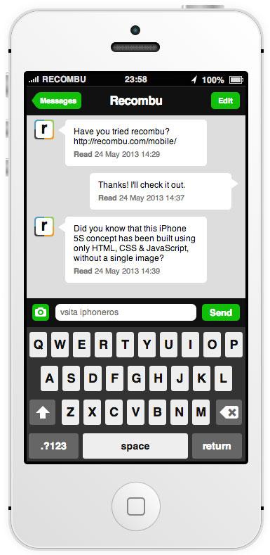 Concepto interactivo de iOS 7