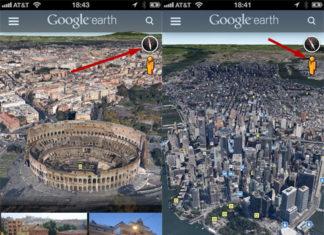 Google Earth con Pegman