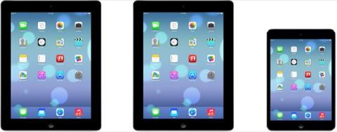 iOS 7 en el iPad