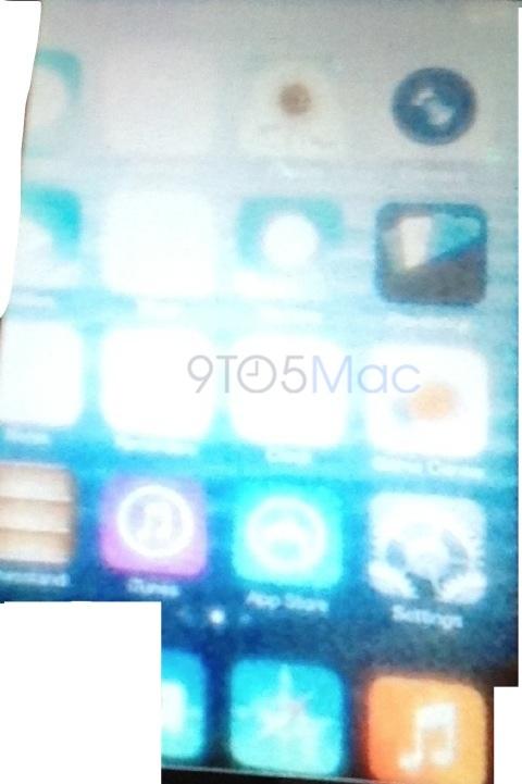Foto espía de iOS 7