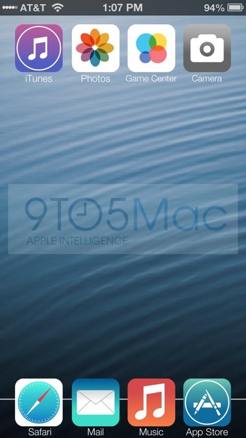 Maqueta de iOS 7