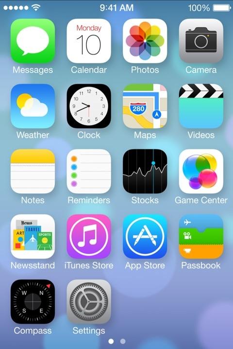 Los Iconos De Ios 7 En Iphoneros