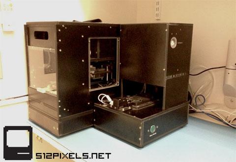 Máquina para calibrar pantallas